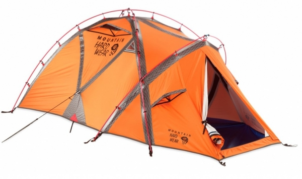 The Mountain Hardwear EV2 is a well-designed strong and highly livable expedition-worthy single-walled winter shelter. Scoring well in all areas ...  sc 1 st  Monster Muleys & Mountain Hardwear EV2 Tent - MonsterMuleys.com