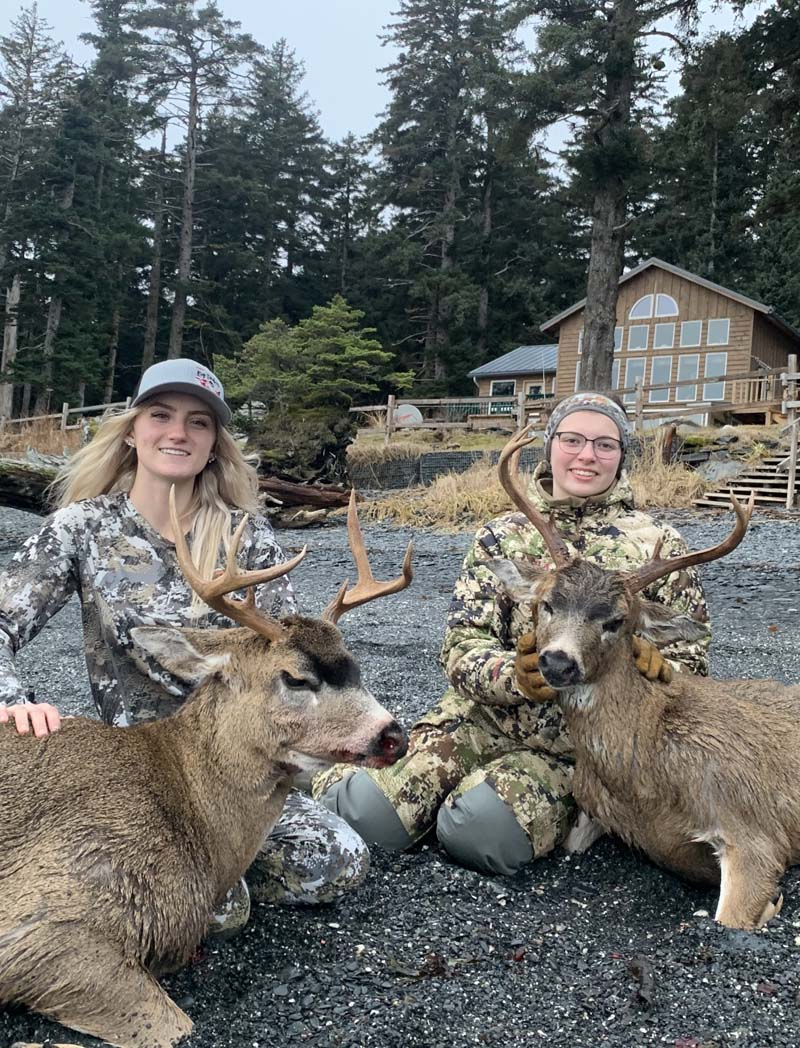 Blacktail Success for the Girls.jpg