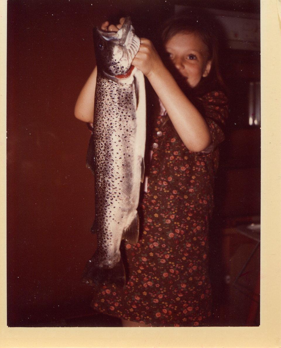 Joann with 4.5 Brown May 12,1967.jpg