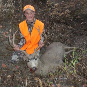 Anden and his buck