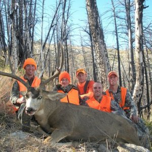2011 Group with Corby's rifle buck.jpg